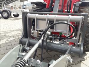 MSW Highspeed oil coupler für Wacker Neuson Aufnahme