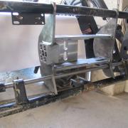 Bausatz Frontlader Eurorahmen MSW Schnellwechsler