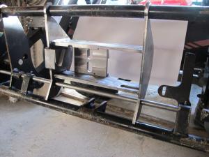 Bausatz Frontlader Eurorahmen MSW Highspeed oil coupler