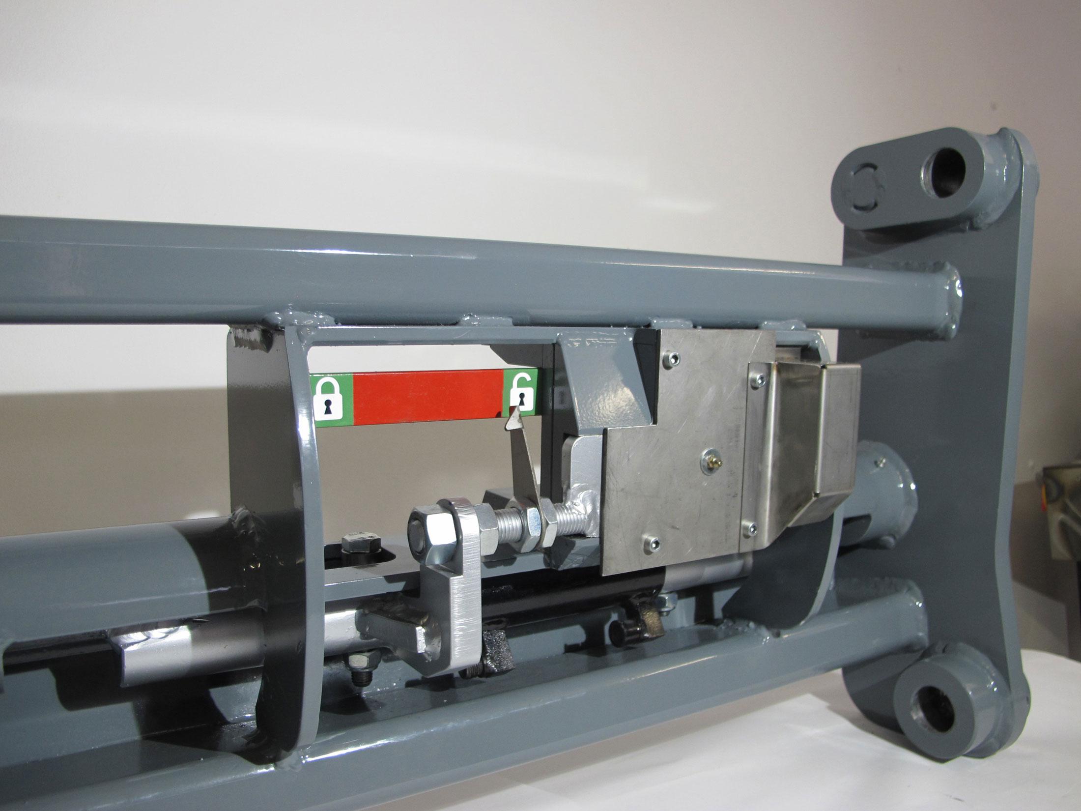 Patentiertes MSW Schnellkupplungssystem für Kramer Radlader