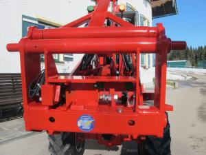 Fuchs Hoflader mit MSW hydraulische Schnellkupplung