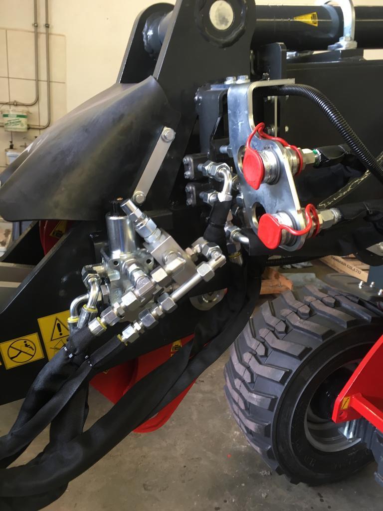 Magnetventil hydraulische Geräteverriegelung