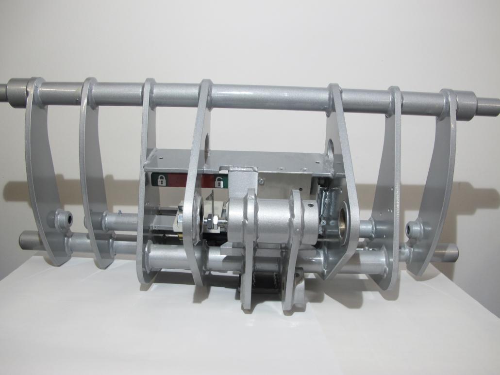 Euro 8 Aufnahme hydraulische Geräteverriegelung