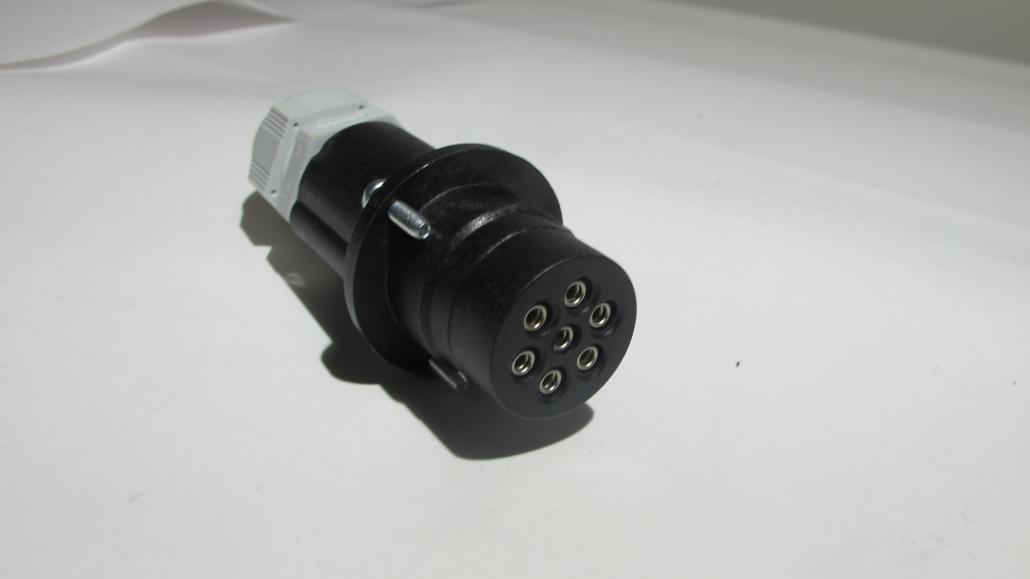 7 poliger Elektrostecker Faster siebenpoliger Elektrostecker Faster