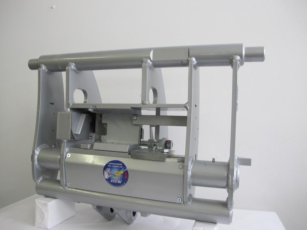 Aufnahme für Wacker Neuson Teleskoplader