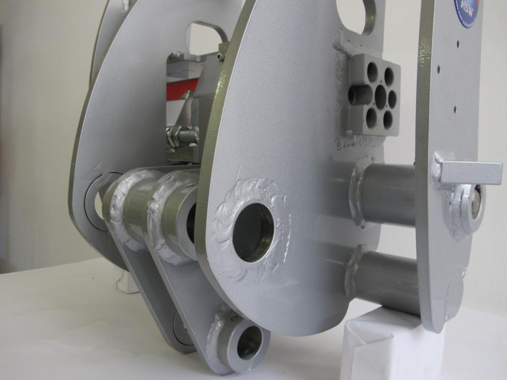 Weidemann hydraulische Geräteverriegelung