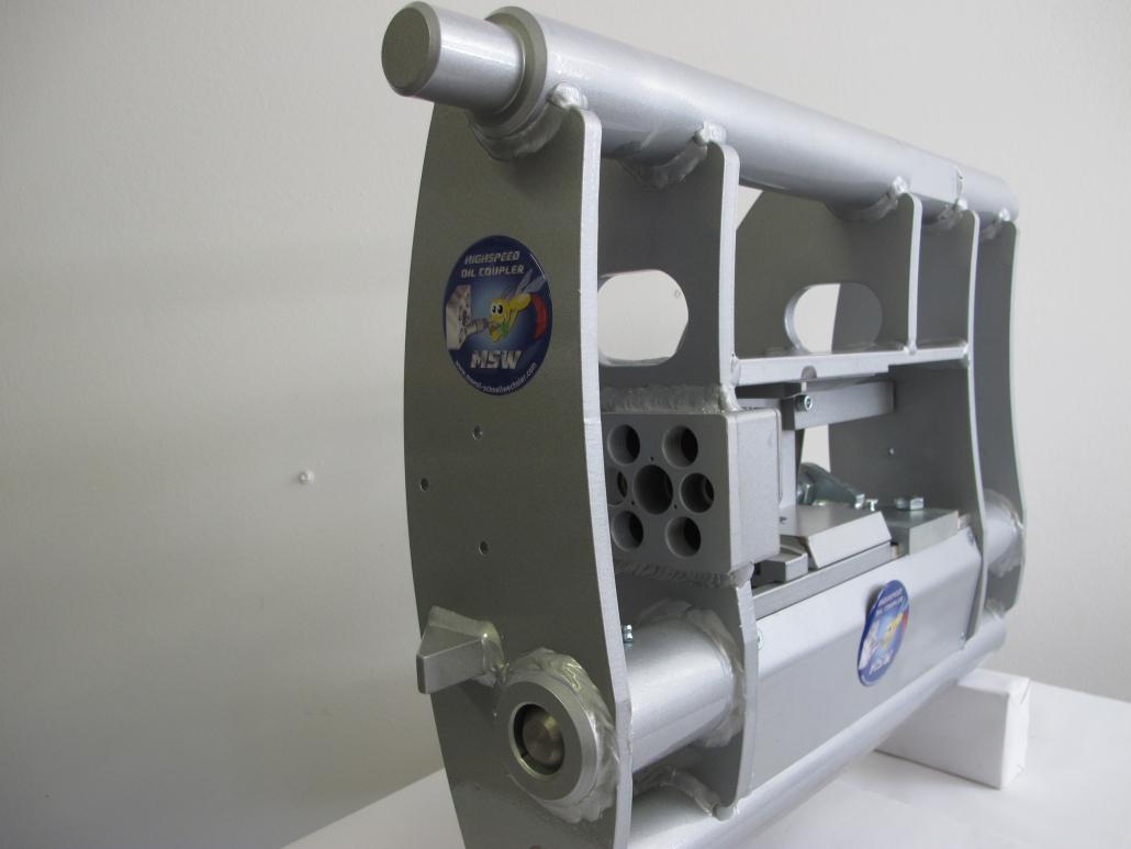 Weidemann Aufnahme für Teleskoplader T4512